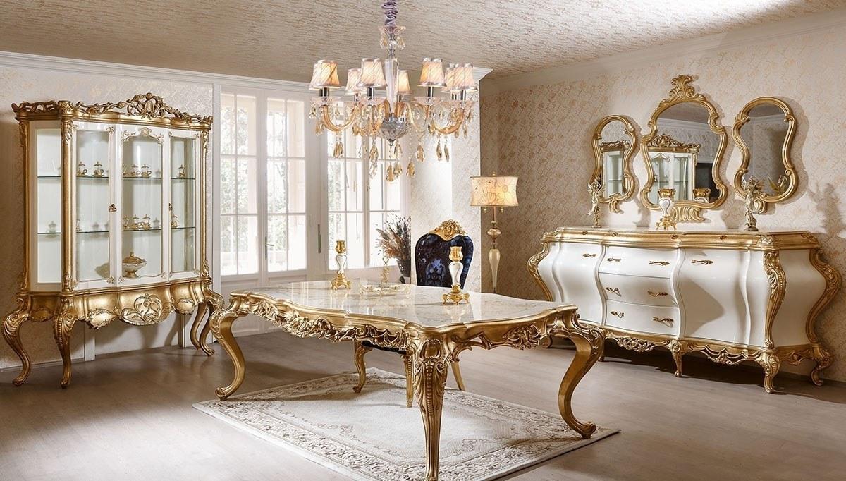Padişah Altın Varaklı Yemek Odası