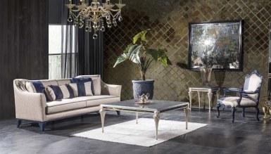 Lüks Palazza Art Deco Koltuk Takımı - Thumbnail