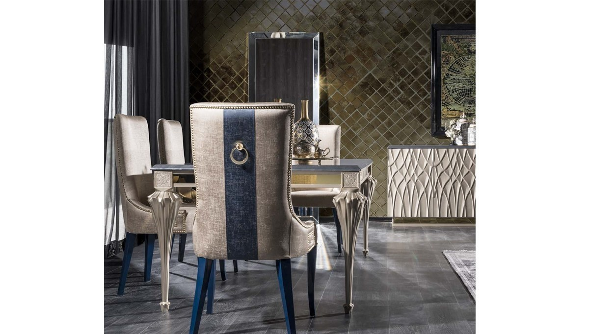 Lüks Palazza Art Deco Yemek Odası