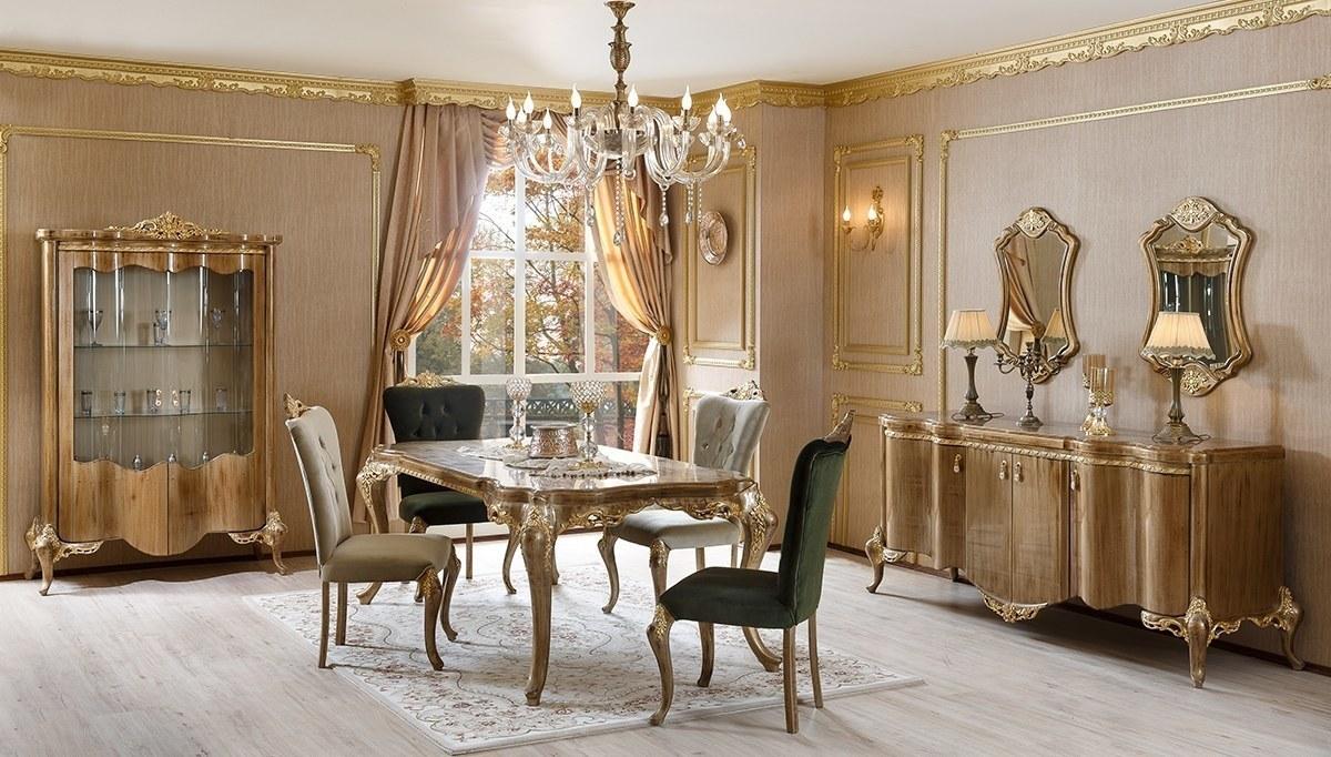 Lüks Paltini Klasik Yemek Odası