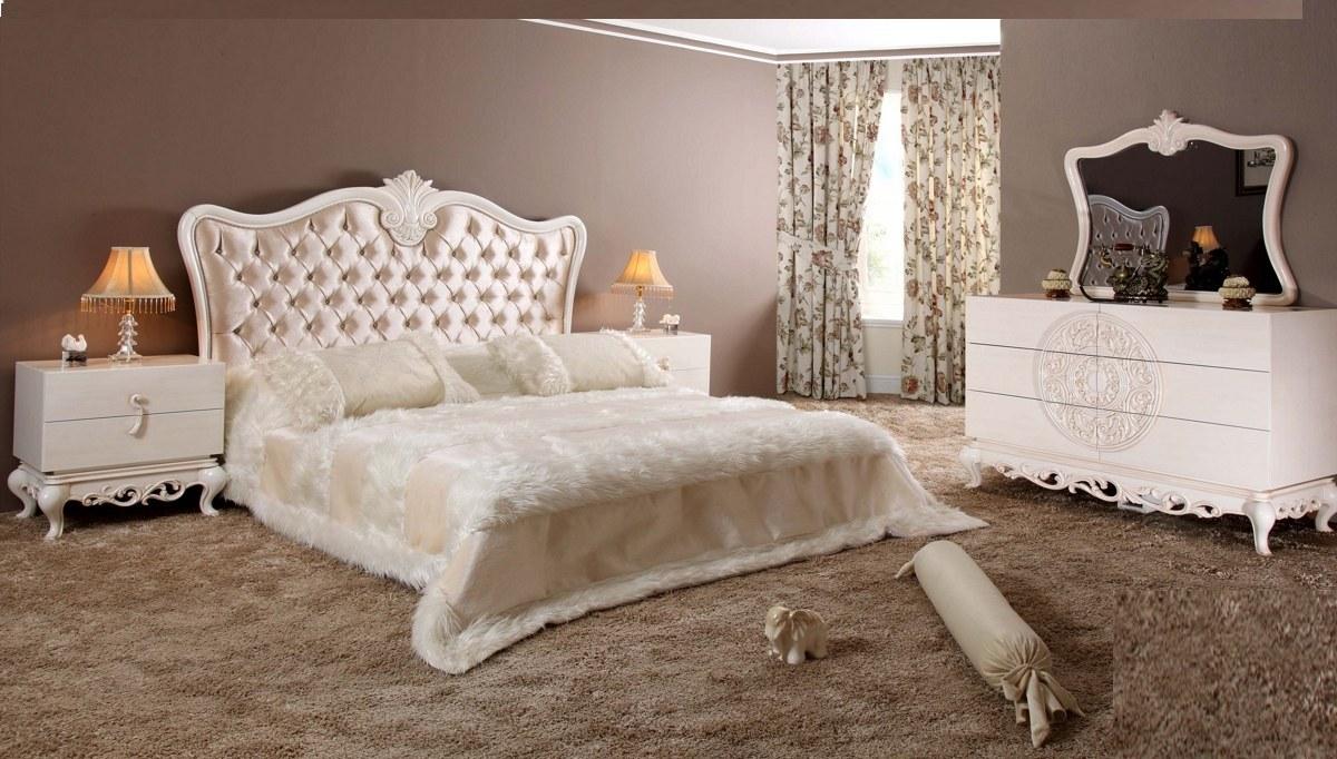 Lüks Pamera Klasik Yatak Odası