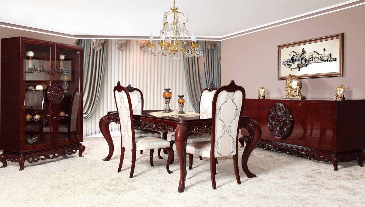 Lüks Pamera Klasik Yemek Odası