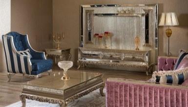 Lüks Panora Art Deco TV Ünitesi
