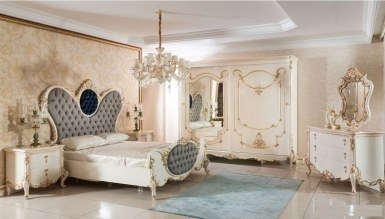 525 - Lüks Parosa Klasik Yatak Odası