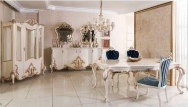 525 - Lüks Parosa Klasik Yemek Odası