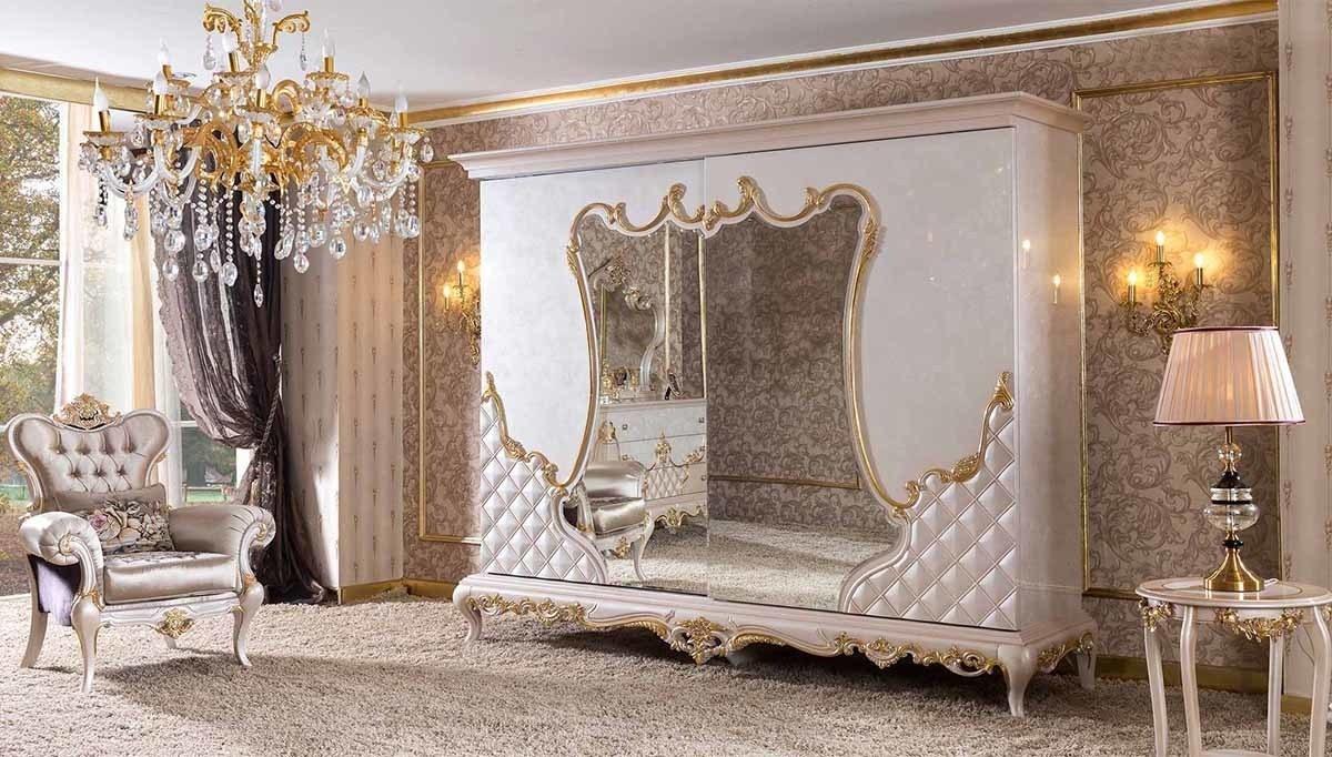Lüks Parselo Klasik Yatak Odası
