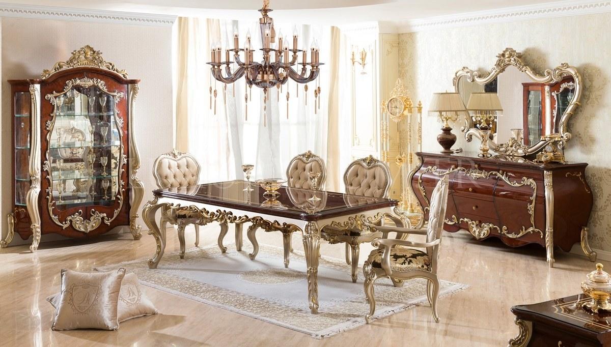 Lüks Partenas Klasik Yemek Odası