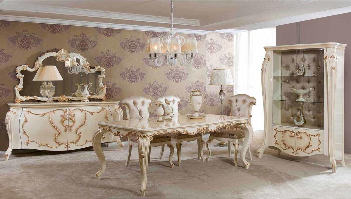 Lüks Paşa Klasik Yemek Odası