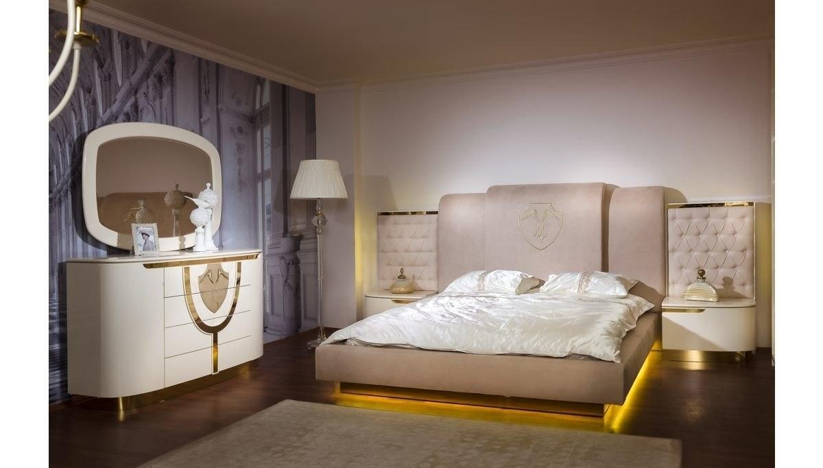 Lüks Pemora Klasik Yatak Odası