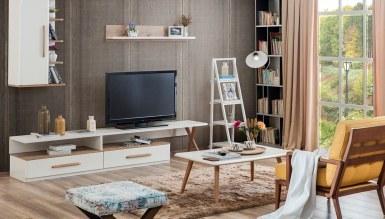 915 - Lüks Penor Raflı TV Ünitesi