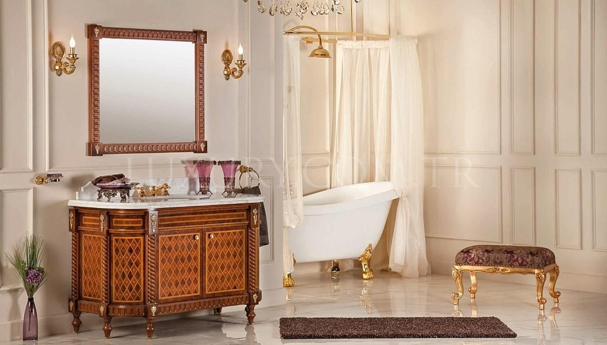 Lüks Perena Klasik Banyo Takımı