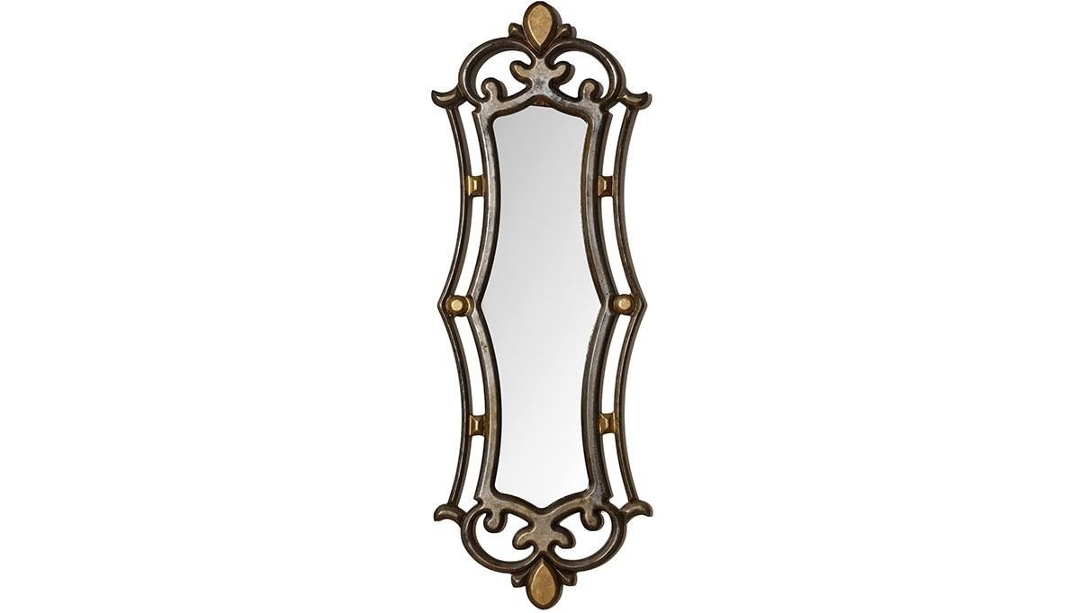 Lüks Perihan Gümüş Altın Ayna