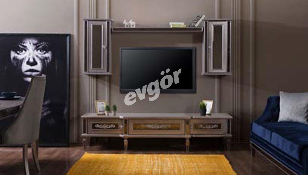 Lüks Persepolis Art Deco TV Ünitesi