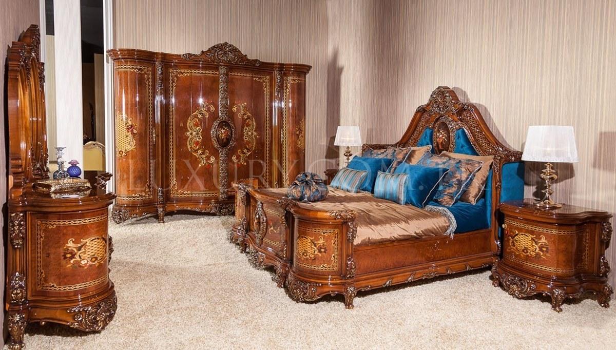 Lüks Persona Klasik Yatak Odası