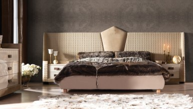 Lüks Perugia Luxury Yatak Odası - Thumbnail