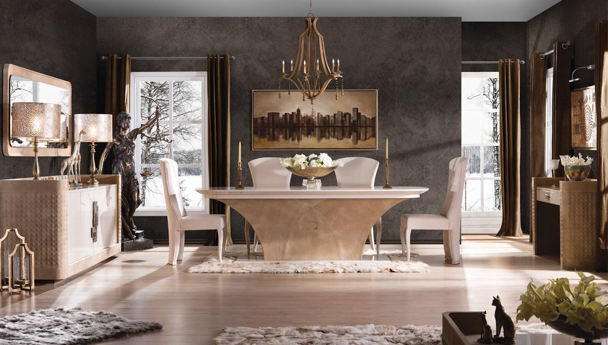 Lüks Perugia Luxury Yemek Odası
