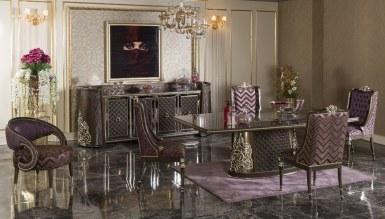 770 - Lüks Pervena Klasik Yemek Odası