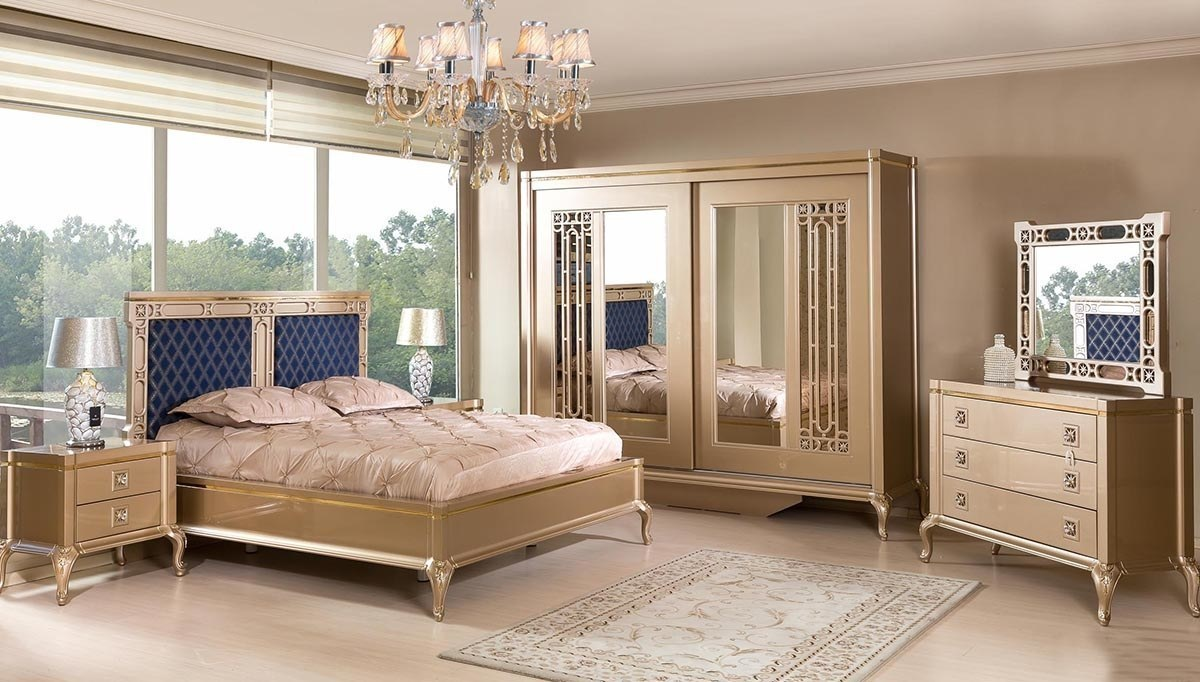 Lüks Pervil Lüks Yatak Odası