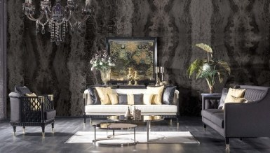 Lüks Pessina Art Deco Koltuk Takımı
