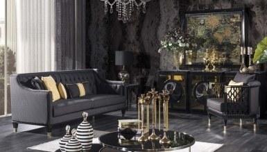 Lüks Pessina Art Deco Koltuk Takımı - Thumbnail