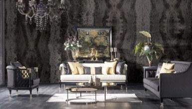 931 - Lüks Pessina Art Deco Koltuk Takımı