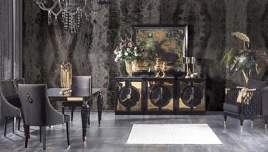 931 - Lüks Pessina Art Deco Yemek Odası