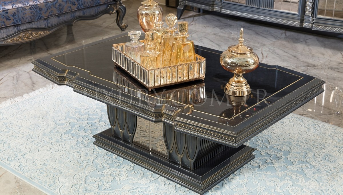 Lüks Petrona Art Deco Koltuk Takımı