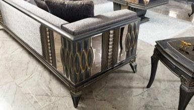 Lüks Petrona Art Deco Koltuk Takımı - Thumbnail
