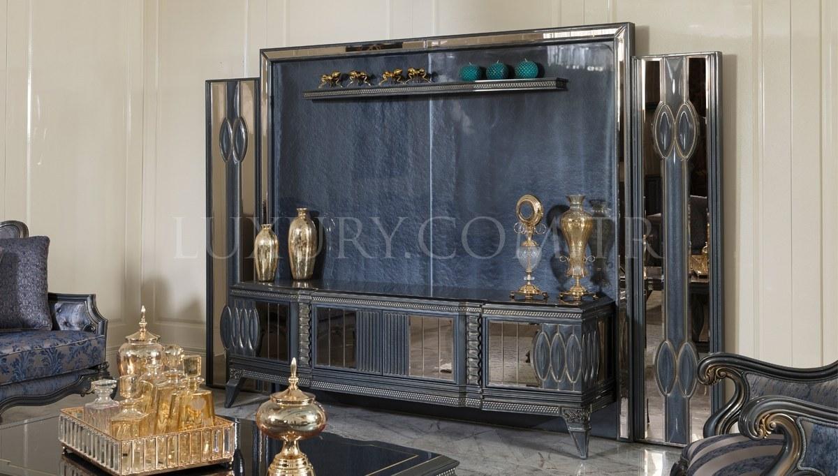 Lüks Petrona Art Deco TV Ünitesi