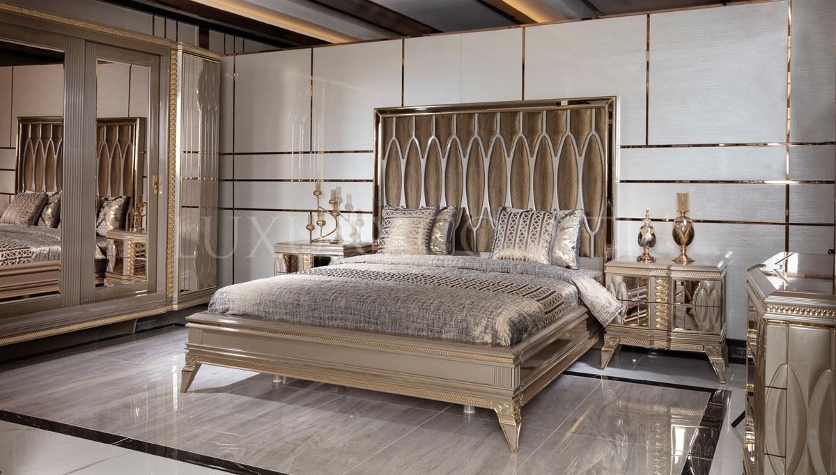 Lüks Petrona Gold Yatak Odası