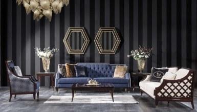 931 - Lüks Pezella Art Deco Koltuk Takımı