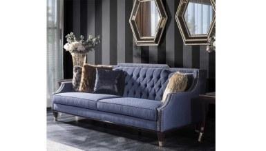 Lüks Pezella Art Deco Koltuk Takımı - Thumbnail