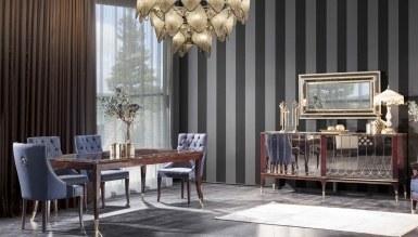 931 - Lüks Pezella Art Deco Yemek Odası