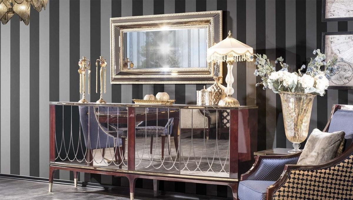 Lüks Pezella Art Deco Yemek Odası