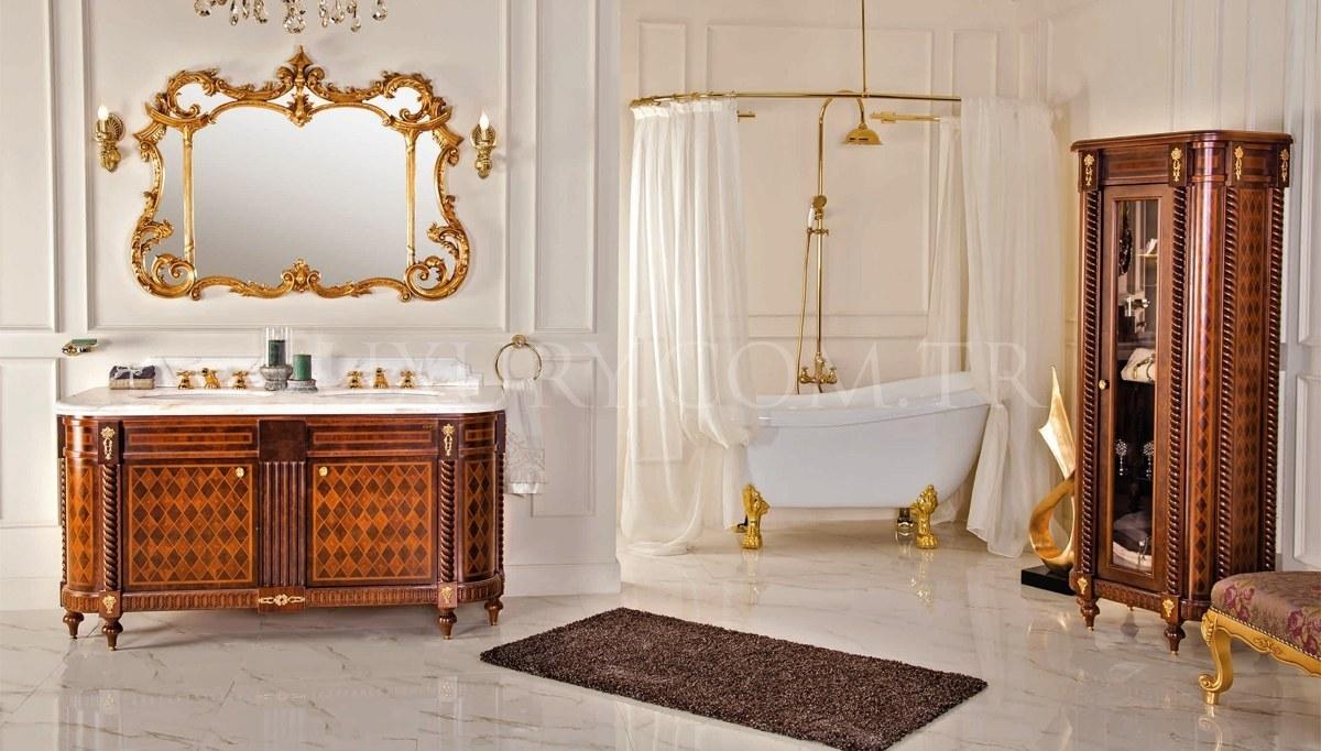 Lüks Pidersa Klasik Banyo Takımı