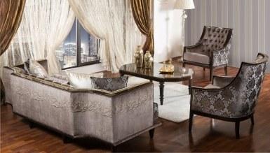 Lüks Piremer Klasik غرفة الجلوس