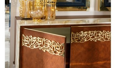 Lüks Piremer Klasik Yemek Odası - Thumbnail