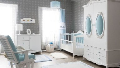 Lüks Pırıl Bebek Odası Takımı