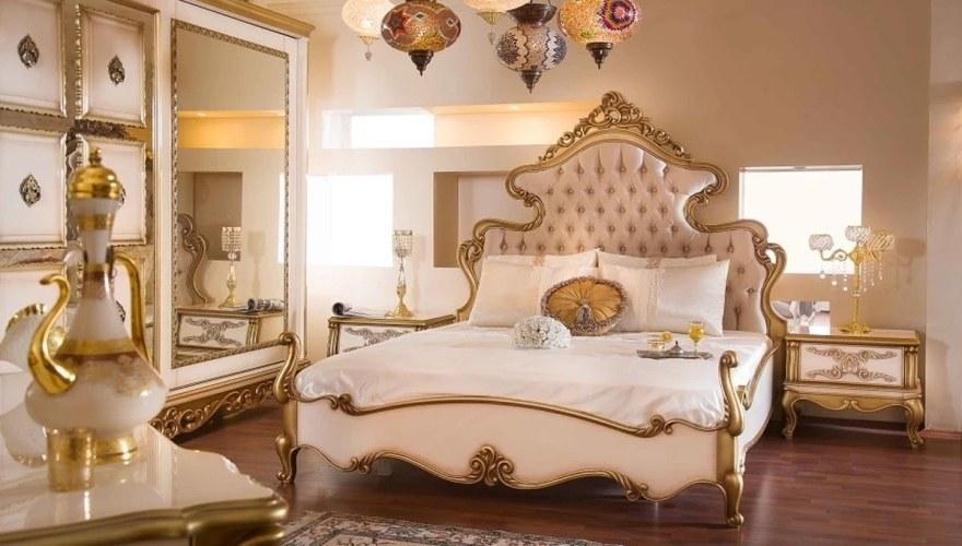Lüks Praga Klasik Yatak Odası - Thumbnail
