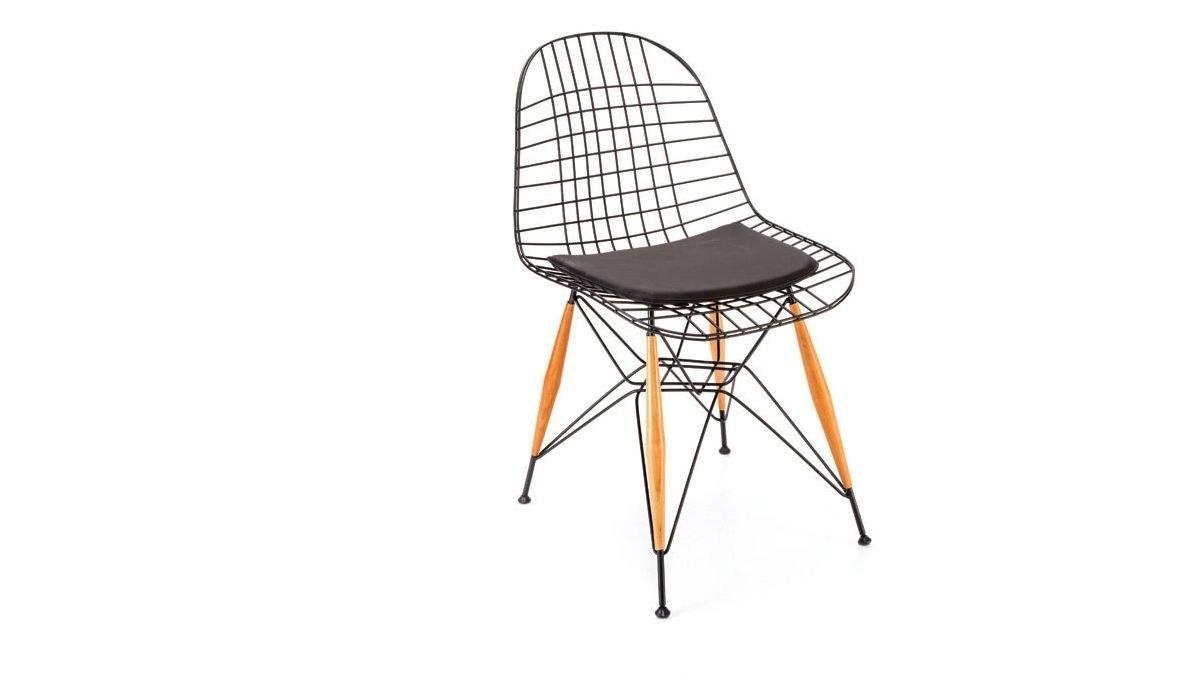 Lüks Pramit Ahşap Ayaklı Sandalye