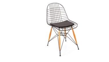 920 - Lüks Pramit Ahşap Ayaklı Sandalye