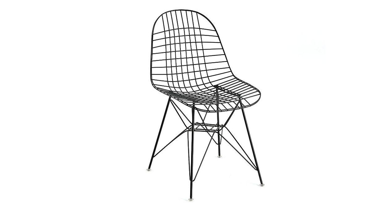 Lüks Pramit Metal Ayaklı Sandalye