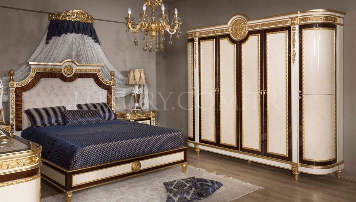 Lüks Preveze Klasik Yatak Odası