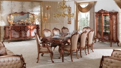 770 - Lüks Prusya Klasik Yemek Odası