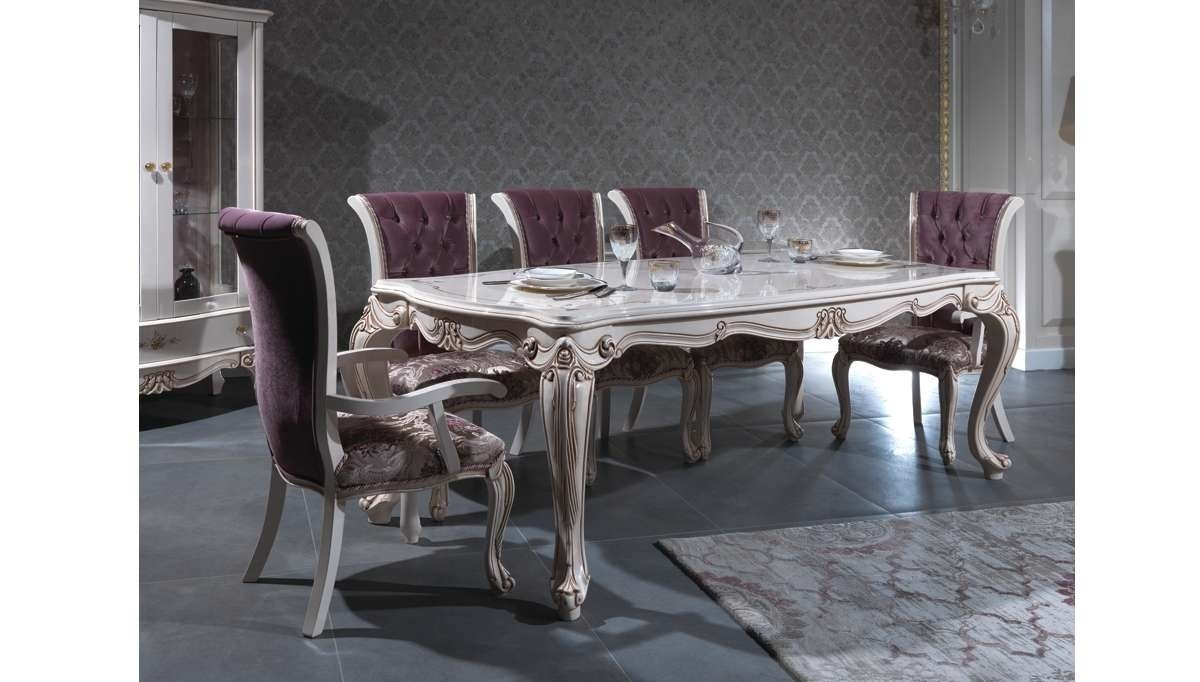 Lüks Püren Klasik Yemek Odası