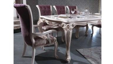 Lüks Püren Klasik Yemek Odası - Thumbnail
