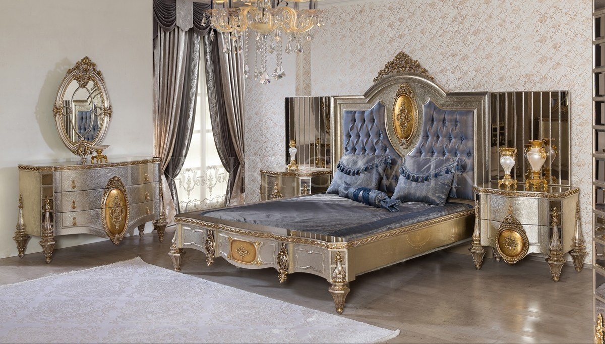 Lüks Ravera Klasik Yatak Odası