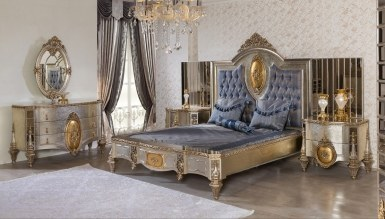 Lüks Ravera Klasik Yatak Odası - Thumbnail