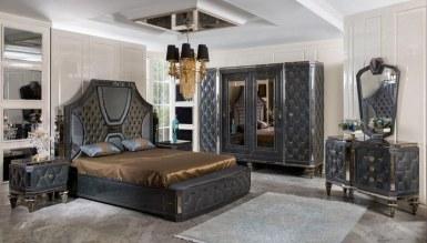 525 - Lüks Retrona Art Deco Yatak Odası