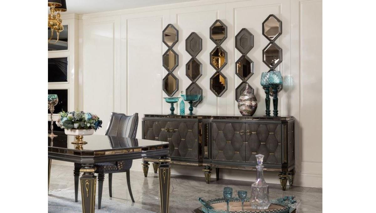 Lüks Retrona Art Deco Yemek Odası